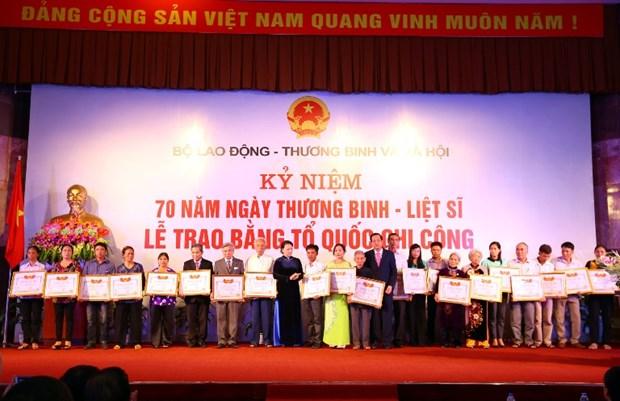 Cong nhan liet sy 94 nguoi hy sinh tu thoi khang chien chong Phap hinh anh 1