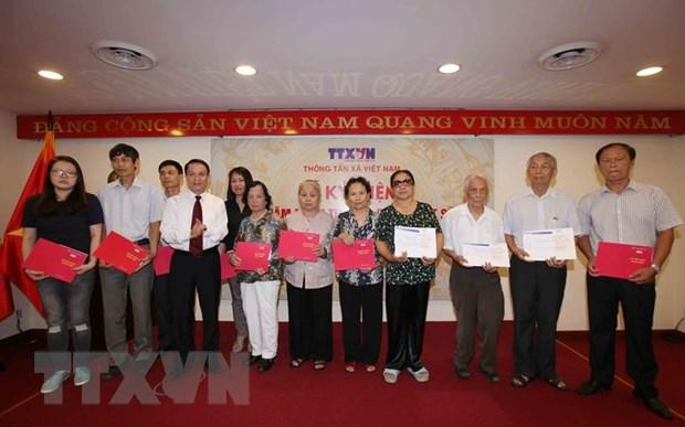 Hon 260 liet sy TTXVN da hy sinh cho nhung dong tin