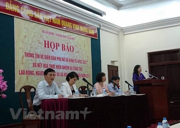 500 dai bieu tham gia Dien dan Phu nu va Kinh te APEC to chuc tai Hue hinh anh 1