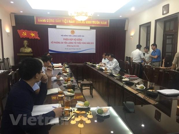 Doanh nghiep de xuat khong tang luong toi thieu vung trong nam 2019 hinh anh 1