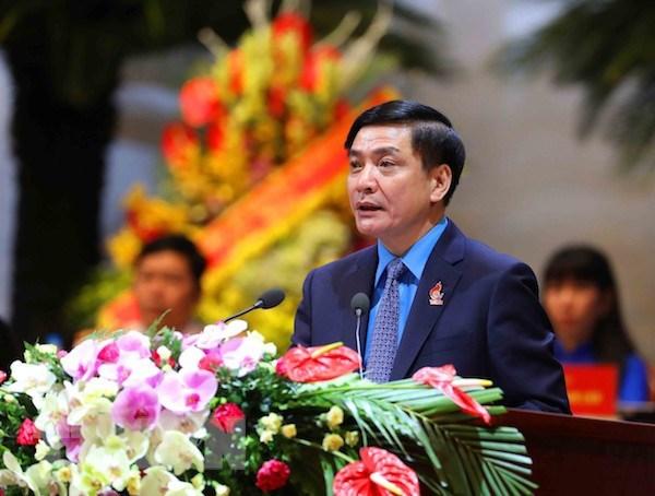 Ong Bui Van Cuong tai dac cu Chu tich Tong Lien doan lao dong Viet Nam hinh anh 1
