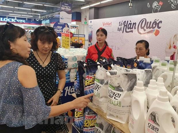 Soi dong 'Tuan le hang hoa Han Quoc', ra mat thuong hieu VinMart Care hinh anh 1