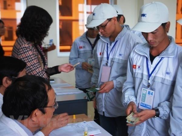 Chua co lao dong Viet Nam tai Han Quoc nhiem COVID-19 hinh anh 1