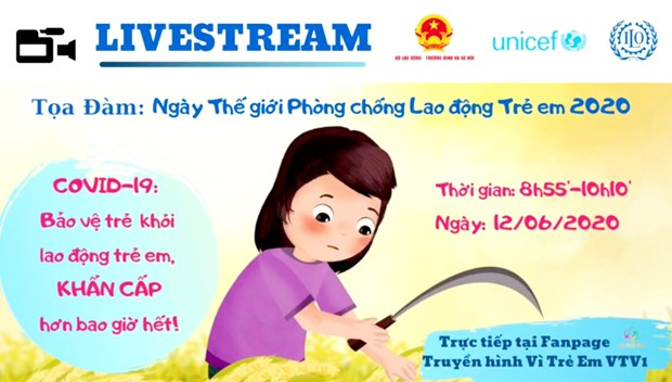 Viet Nam day manh ung pho voi nguy co lao dong tre em vi COVID-19 hinh anh 2