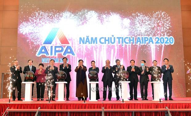 AIPA 41: Ngoai giao nghi vien vi ASEAN gan ket va chu dong thich ung hinh anh 1