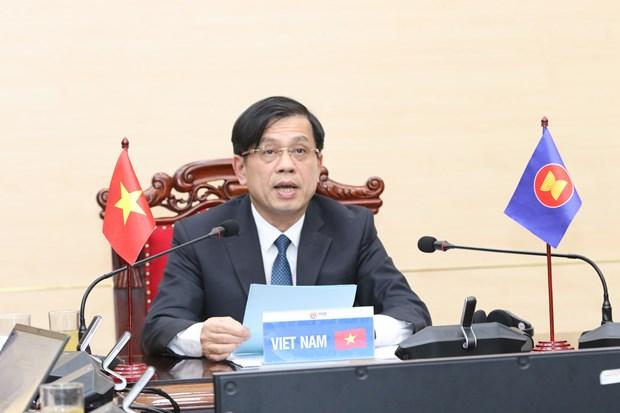 Viet Nam chu trong thuc hien uu tien va chu de cua nam ASEAN 2021 hinh anh 1