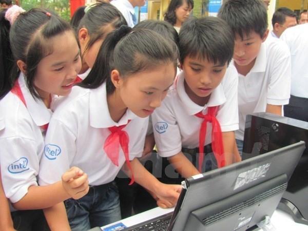 UNICEF hoanh nghenh chuong trinh bao ve tre em tren mang cua Viet Nam hinh anh 1