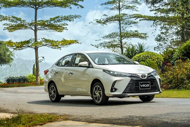 Toyota Vios 2021 chinh thuc ra mat, gia cao nhat 638 trieu dong hinh anh 1