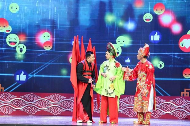 Trang phuc la mat cua 'co' Dau va cac Tao trong Tao quan 2018 hinh anh 5