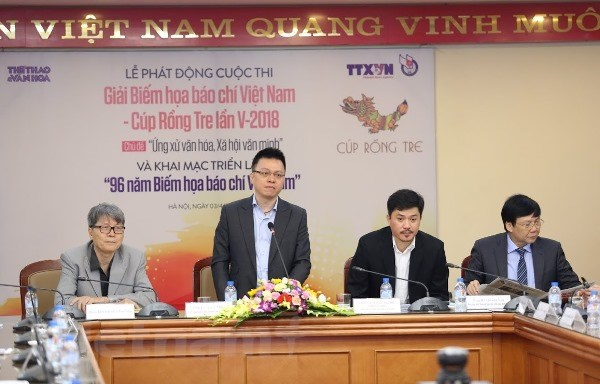 Cup Rong Tre 2018: Ton vinh 96 nam biem hoa bao chi Viet Nam hinh anh 2