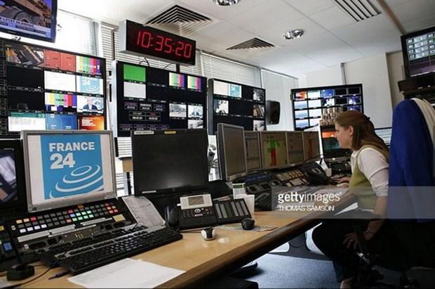 Kenh truyen hinh France 24 se phat song bang tieng Phap tai Viet Nam hinh anh 1