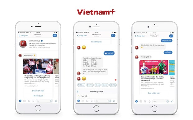 VietnamPlus don Huan chuong Lao dong hang Nhi, ra mat san pham chatbot hinh anh 4