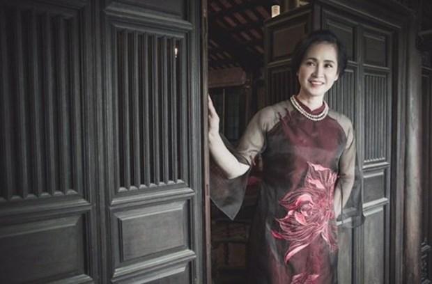'Me chong' Lan Huong lan dau ngoi 'ghe nong' Lien hoan truyen hinh hinh anh 1