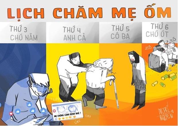 Giai Biem hoa bao chi Viet Nam: 'Nong' chuyen ung xu tren mang xa hoi hinh anh 3