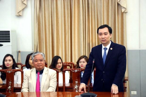 Bo nhiem Truong Ban Tuyen giao Uy ban Trung uong Mat tran To quoc hinh anh 2