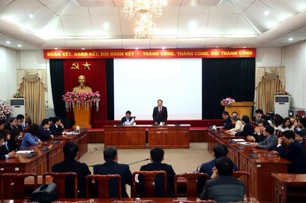 Bo nhiem Truong Ban Tuyen giao Uy ban Trung uong Mat tran To quoc hinh anh 1