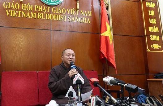 Đình chỉ chức vụ trong Giáo hội Phật giáo với trụ trì chùa Ba Vàng - 1