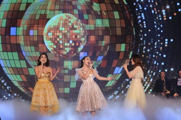 Màn hòa giọng của ba thí sinh dòng nhạc nhẹ để lại ấn tượng tốt với người nghe. (Ảnh: BTC)