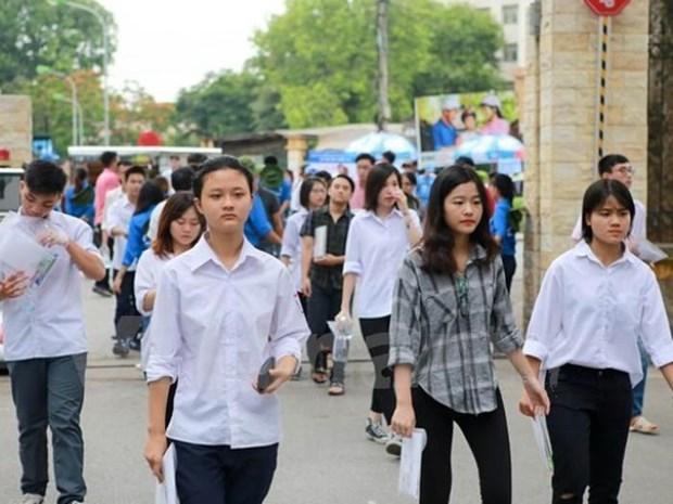 Kỳ thi Trung học phổ thông quốc gia năm 2019 sẽ diễn ra từ ngày 24 đến 27/6. (Ảnh minh họa: Minh Sơn/Vietnam+)