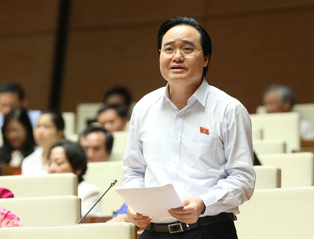 Bo truong Phung Xuan Nha: Kien quyet xu ly giao vien vi pham dao duc hinh anh 2