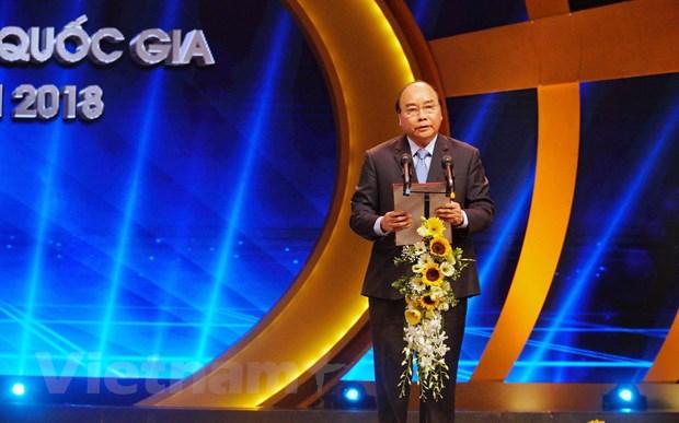 VietnamPlus gianh giai A, B, C tai Giai Bao chi Quoc gia 2018 hinh anh 2