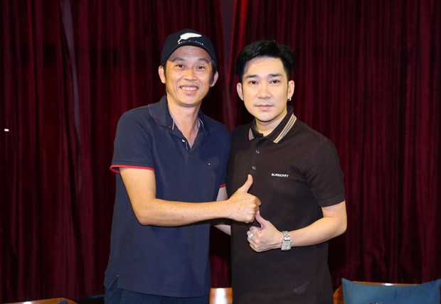 Hoai Linh, Le Quyen dong hanh cung Quang Ha trong dem dien moi hinh anh 1