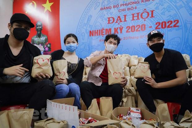 Xuan Bac tham gia 'Chia se thuc pham hang ngay' vuot qua COVID-19 hinh anh 2