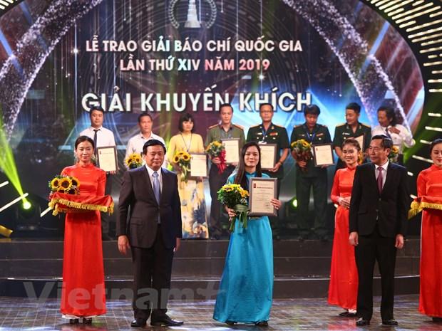 VietnamPlus lan thu tu lien tiep gianh giai A Giai Bao chi Quoc gia hinh anh 1