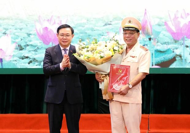 Thieu tuong Nguyen Hai Trung giu chuc giam doc Cong an Ha Noi hinh anh 1
