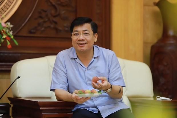 """Nang tam nong san Viet tu chien luoc mang ten """"Vai thieu Bac Giang' hinh anh 2"""