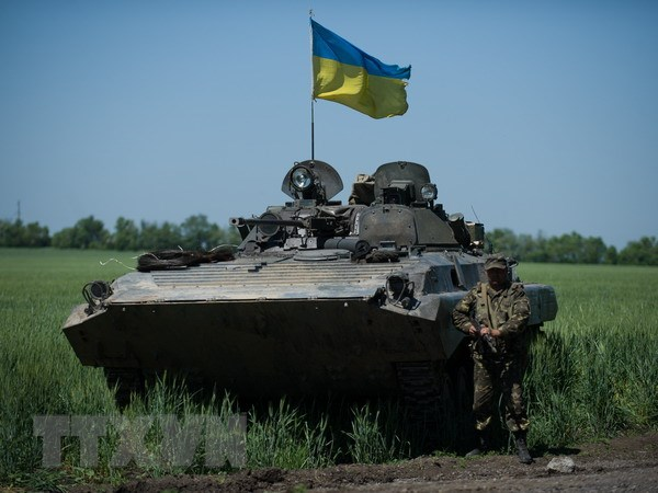 Linh Ukraine tu choi nhiem vu do thieu thon trang bi hinh anh 1