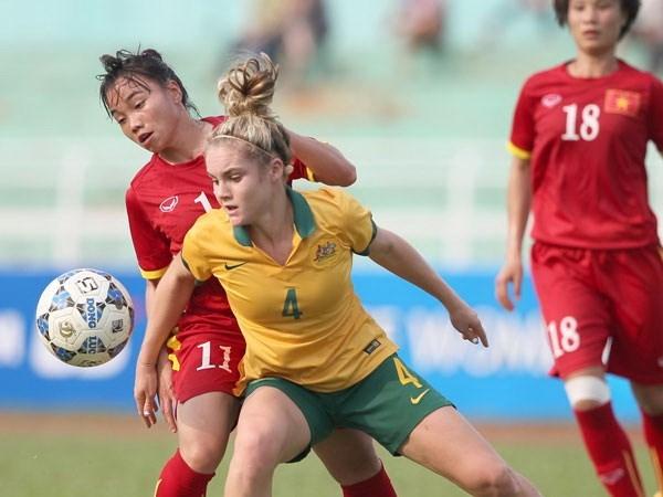 [Video] Tuyen bong da nu Viet Nam-U20 Australia: hap dan, kich tinh hinh anh 1
