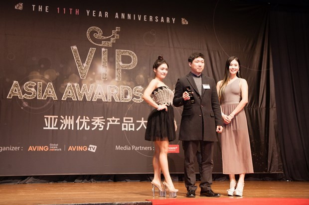 Nhieu san pham an tuong duoc ton vinh tai giai VIP ASIA 2016 hinh anh 2