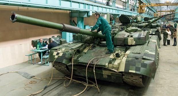 Thai Lan huy mua xe tang Ukraine de