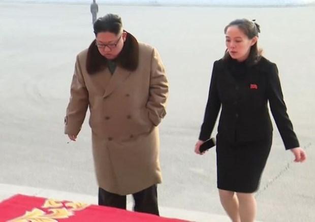 Seoul thong bao em gai ong Kim Jong Un co the toi Han Quoc hinh anh 1