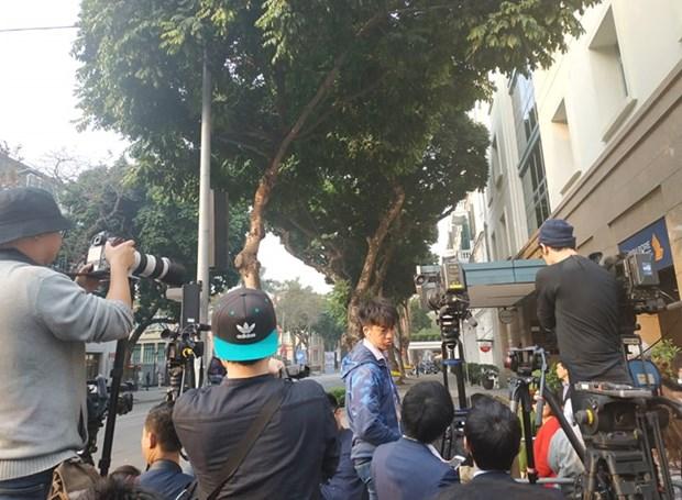 Ong Trump khen ong Kim trong cuoc gap dau tien o Metropole hinh anh 53