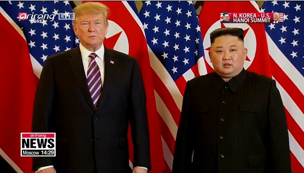 Ong Trump khen ong Kim trong cuoc gap dau tien o Metropole hinh anh 63