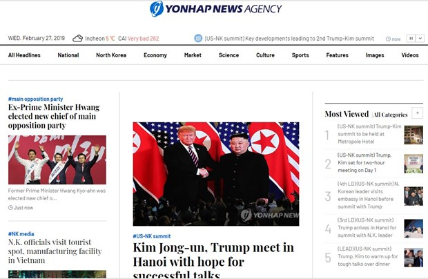 Ong Trump khen ong Kim trong cuoc gap dau tien o Metropole hinh anh 67