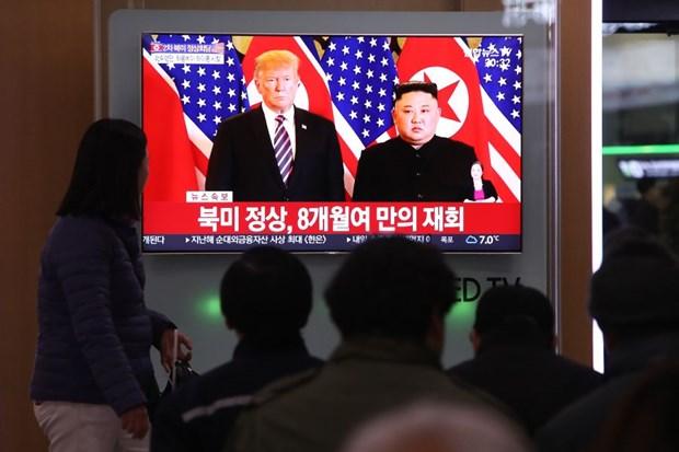 Thuong dinh My-Trieu khong co thoa thuan, ong Trump roi Ha Noi hinh anh 77