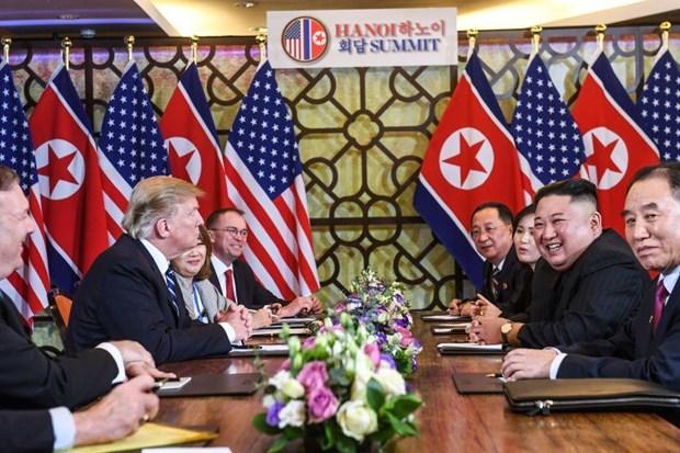Thuong dinh My-Trieu khong co thoa thuan, ong Trump roi Ha Noi hinh anh 36