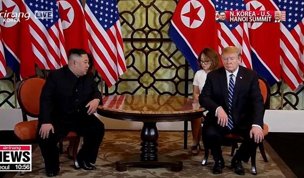 Thuong dinh My-Trieu khong co thoa thuan, ong Trump roi Ha Noi hinh anh 61