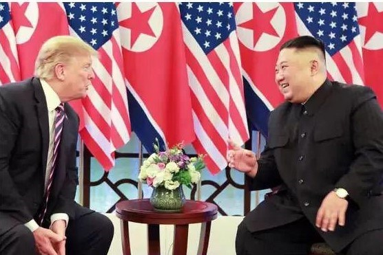 Thuong dinh My-Trieu khong co thoa thuan, ong Trump roi Ha Noi hinh anh 58