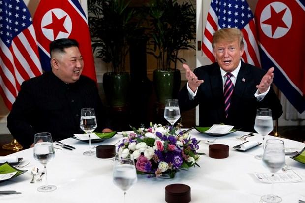 Thuong dinh My-Trieu khong co thoa thuan, ong Trump roi Ha Noi hinh anh 78