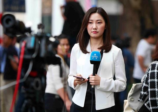 Thuong dinh My-Trieu khong co thoa thuan, ong Trump roi Ha Noi hinh anh 70