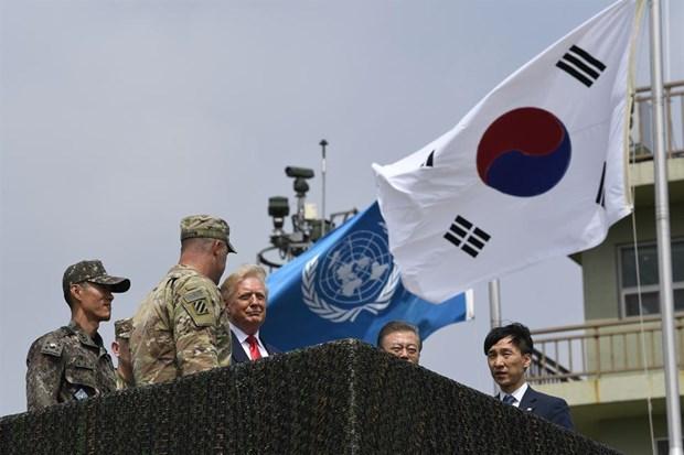 Tong thong Donald Trump danh gia tot cuoc gap ong Kim Jong un o Ha Noi hinh anh 11