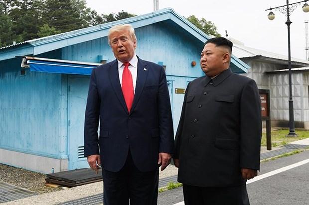 Tong thong Donald Trump danh gia tot cuoc gap ong Kim Jong un o Ha Noi hinh anh 1