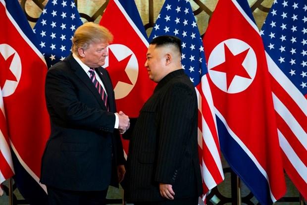 Tong thong Donald Trump danh gia tot cuoc gap ong Kim Jong un o Ha Noi hinh anh 10