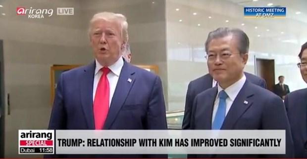 Tong thong Donald Trump danh gia tot cuoc gap ong Kim Jong un o Ha Noi hinh anh 2