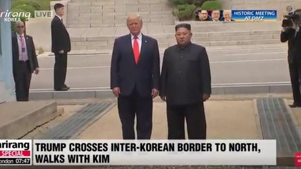 Tong thong Donald Trump danh gia tot cuoc gap ong Kim Jong un o Ha Noi hinh anh 7