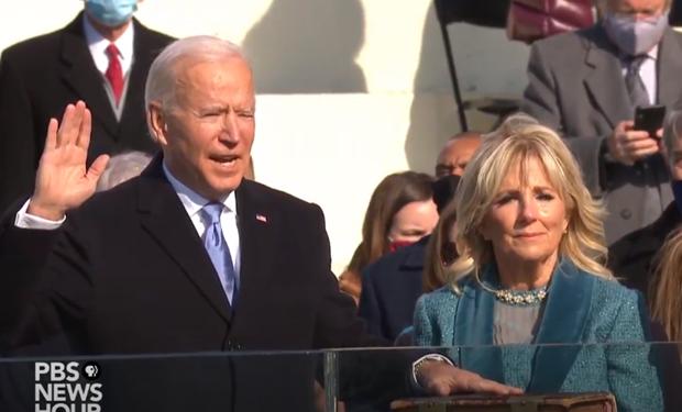 Ong Joe Biden hua se tro thanh
